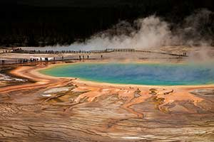 Yellowstone National Park - Grand Prismatic Springs (2014)
